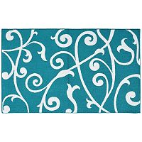 Garland Rug Honeysuckle Floral Rug - 5' x 7'