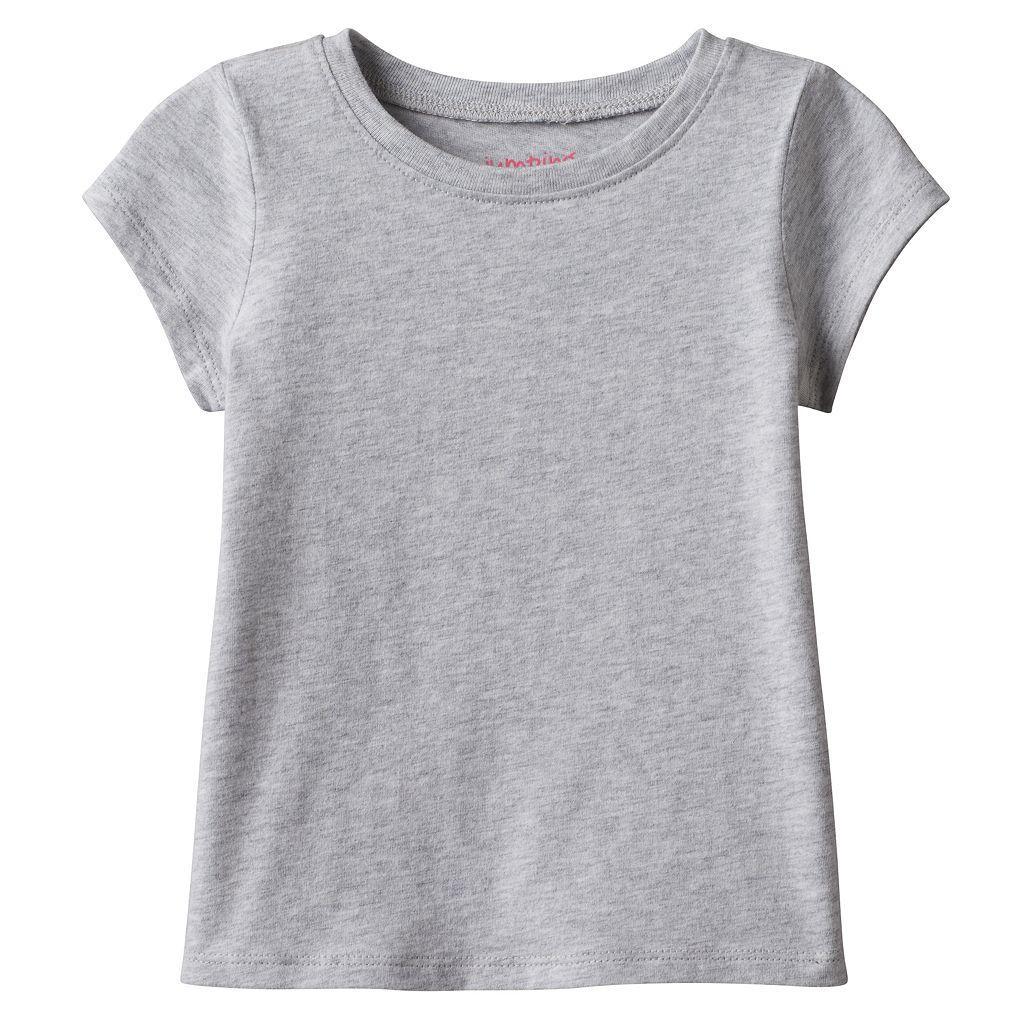 Toddler Girl Jumping Beans® Basic Short Sleeve Solid Tee