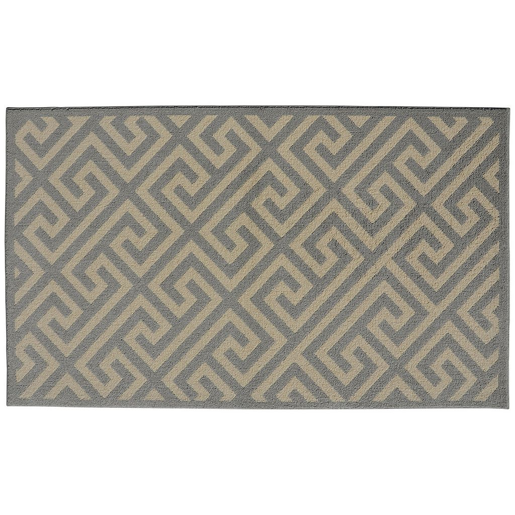 Garland Rug Greek Key Geometric Rug - 5' x 7'
