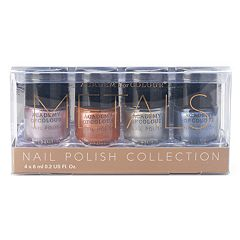 Academy of Colour Metals 4 pc Nail Polish Set