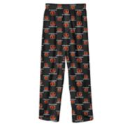 Boys 8-20 Cincinnati Bengals Team Logo Lounge Pants