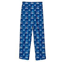 Boys 8-20 Detroit Lions Team Logo Lounge Pants