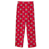 Boys 8-20 Kansas City Chiefs Team Logo Lounge Pants