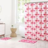 Clairebella 15-piece Flamingo Bathroom Set