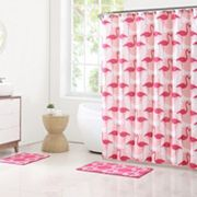 Clairebella 15 pc Flamingo Bathroom Set