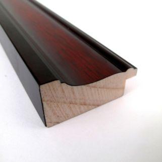 Amanti Art Rubino Scoop Rectangular Framed Magnetic Board Wall Decor