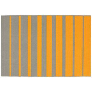 Garland Rug Stair Steps Striped Rug - 5' x 7'6''