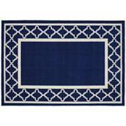 Garland Rug Moroccan Trellis Framed Rug