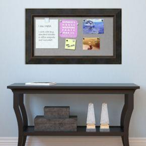 Amanti Art Signore Rectangular Framed Magnetic Board Wall Decor