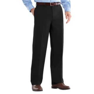 Men's Croft & Barrow® Classic-Fit Easy-Care Stretch Flat-Front Khaki Pants