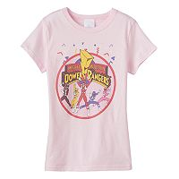 Girls 7-16 Mighty Morphin Power Rangers Graphic Tee