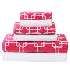 Clairebella 6 pc Links Bath Towel Set
