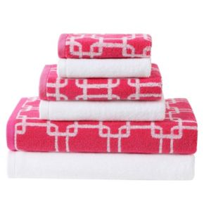 Clairebella 6-piece Links Bath Towel Set