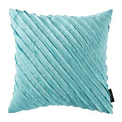 Christian Siriano Capri Square Throw Pillow