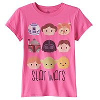 Disney's Tsum Tsum Star Wars Girls 7-16 Graphic Tee