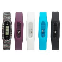 B-Fit Women's Slim Activity Tracker & Interchangeable Band Set - KO2352BK598-078