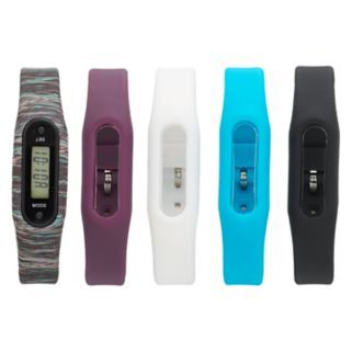 B-Fit Women's Slim Activity Tracker & Interchangeable Band Set - KO2352BK598-078