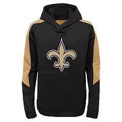 Boys 8-20 New Orleans Saints Hyperlink Pullover Hoodie