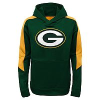 Boys 8-20 Green Bay Packers Hyperlink Pullover Hoodie