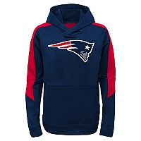 Boys 8-20 New England Patriots Hyperlink Pullover Hoodie