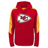 Boys 8-20 Kansas City Chiefs Hyperlink Pullover Hoodie