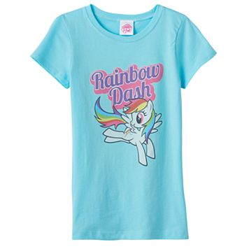 Girls 7-16 My Little Pony Rainbow Dash Graphic Tee