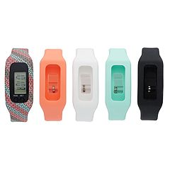 B-Fit Women's Activity Tracker & Interchangeable Band Set - KO2308BK598-078