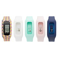 B-Fit Women's Activity Tracker & Interchangeable Band Set - KO2303BK598-078