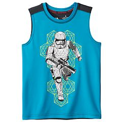 Boys 4-7x Star Wars a Collection for Kohl's Stormtrooper Metallic Graphic Tank Top