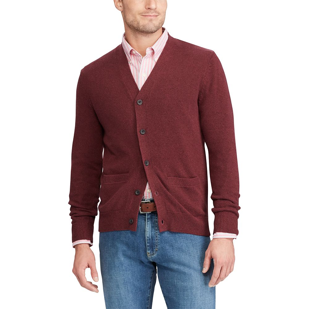 Chaps Classic-Fit Cardigan Sweater