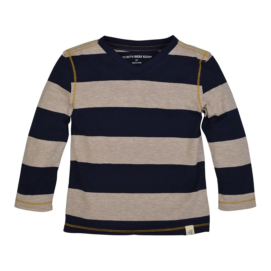 Toddler Boy Burt's Bees Baby Organic Striped Tee