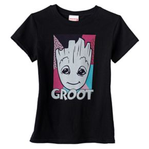 Girls 7-16 Marvel Guardians of the Galaxy Groot Graphic Tee