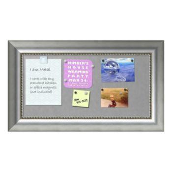 Amanti Art Vegas Rectangular Framed Magnetic Board Wall Decor