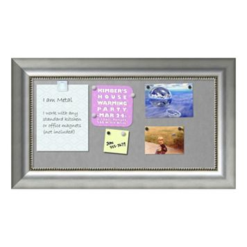 Amanti Art Vegas Rectangular Framed Magnetic Board Wall Decor