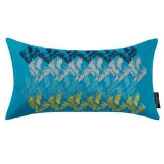 Christian Siriano Plume Throw Pillow