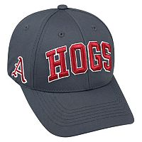 Adult Top of the World Arkansas Razorbacks Cool & Dry One-Fit Cap