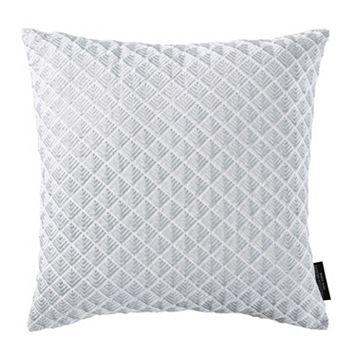 Christian Siriano Java Square Throw Pillow