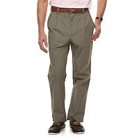 Men's Croft & Barrow® Classic-Fit Easy-Care Stretch Pleated Pants