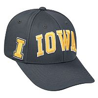 Adult Top of the World Iowa Hawkeyes Cool & Dry One-Fit Cap