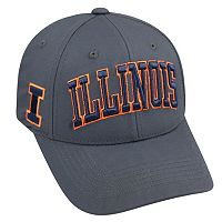 Adult Top of the World Illinois Fighting Illini Cool & Dry One-Fit Cap