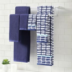 Clairebella 6-piece Cubish Bath Towel Set
