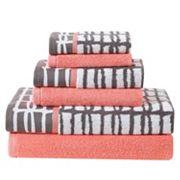 Clairebella 6 pc Cubish Bath Towel Set