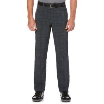 Men's Grand Slam Regular-Fit Motionflow 360 Plaid Active Waistband Performance Golf Pants
