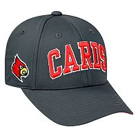 Adult Top of the World Louisville Cardinals Cool & Dry One-Fit Cap