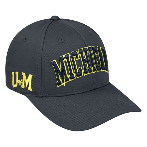 Adult Top of the World Michigan Wolverines Cool & Dry One-Fit Cap