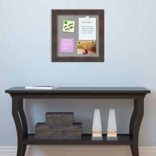 Amanti Art Rustic Brown Square Magnetic Bulletin Board Wall Decor