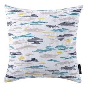 Christian Siriano Plume Square Throw Pillow