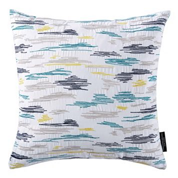 Christian Siriano Plume Square Throw Pillow