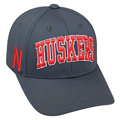 Adult Top of the World Nebraska Cornhuskers Cool & Dry One-Fit Cap