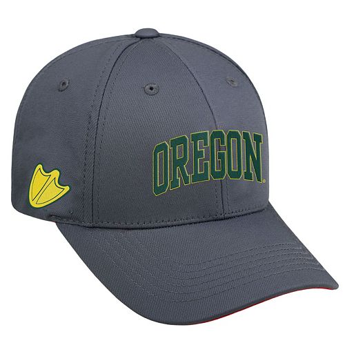 Adult Top of the World Oregon Ducks Cool & Dry One-Fit Cap